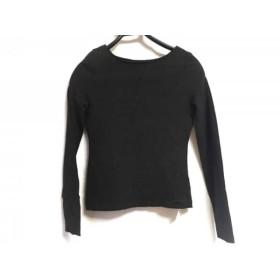 【中古】 フォクシーニューヨーク FOXEY NEW YORK 長袖Tシャツ サイズ40 M レディース ダークグレー