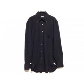【中古】 バルバ BARBA 長袖シャツ サイズ41/16 メンズ 黒