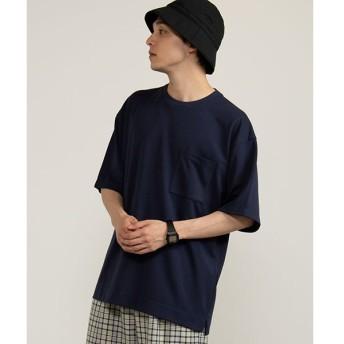 [マルイ]【セール】ポンチサイドスリットTシャツ/ウィゴー(メンズ)(WEGO)