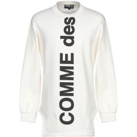 《セール開催中》COMME DES FUCKDOWN メンズ スウェットシャツ ホワイト XS コットン 100%