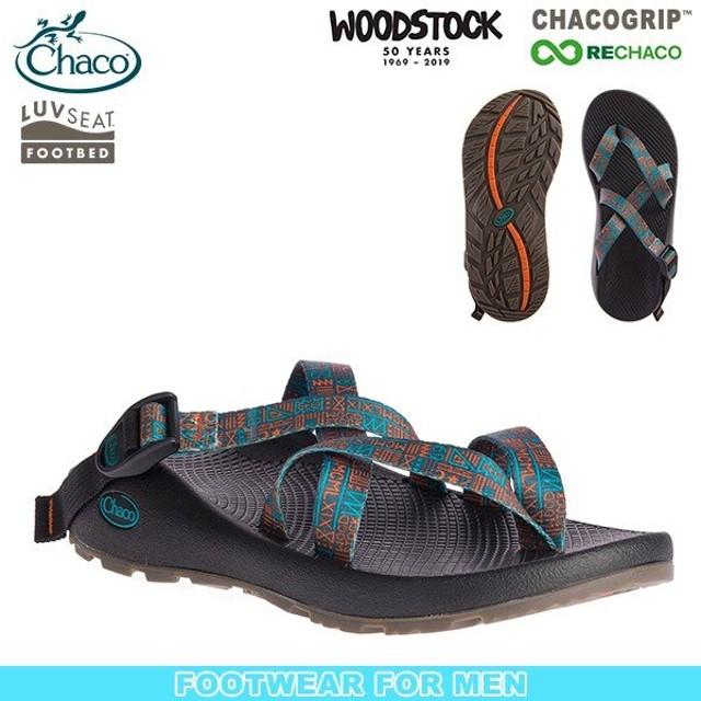 チャコ Chaco Ms テグ ウッドストック ニューネイティブブルー サンダル スポーツサンダル SALE