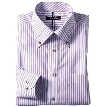 50%OFF【メンズ】 形態安定デザインYシャツ(すっきりシルエット) - セシール ■カラー:パープル系 ■サイズ:41(裄丈82),39(裄丈78),39(裄丈80),41(裄丈84),47(裄丈86),41(裄丈80)
