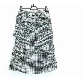 【中古】 コムデギャルソン コムデギャルソン スカート サイズS レディース 美品 黒 白