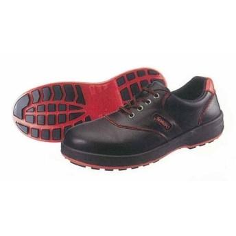 ワークシューズ SL11-R黒/赤 シモン 安全靴