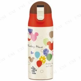 【取寄品】 超軽量ワンプッシュステンレスボトル ミッキーマウス バルーン(ベビー 台所用品 キッチン用品 水筒 アウトドア用品 キャンプ