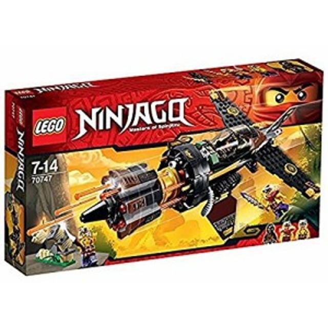 レゴ (LEGO) ニンジャゴー リボルバーブラスター 70747(中古品)