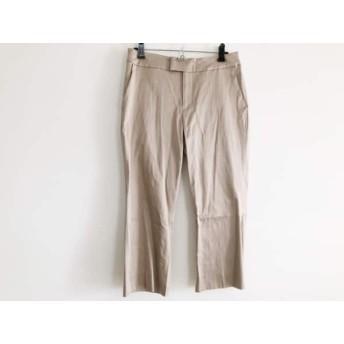 【中古】 インゲボルグ INGEBORG パンツ サイズ11 M レディース ベージュ