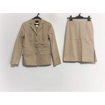 【中古】 アイシービー ICB スカートスーツ サイズ9 M レディース ベージュ