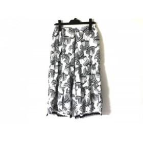 【中古】 ムチャチャ muchacha パンツ サイズ1 S レディース 白 黒