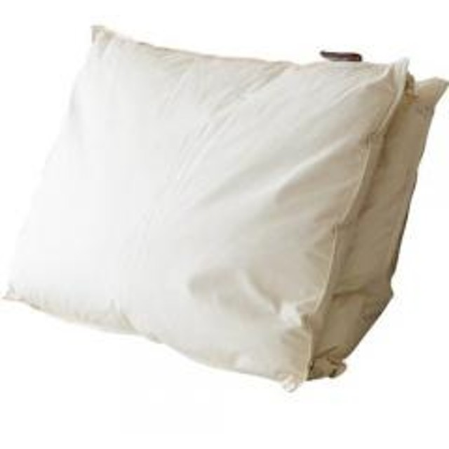 羽毛枕 リッチダウンピロー ホテル仕様 日本製 羽毛まくら 羽毛マクラ うもうまくら down pillow ホテルピロー エムール 約43×63cm 2枚組