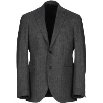 《期間限定セール開催中!》TOMBOLINI メンズ テーラードジャケット 鉛色 46 バージンウール 75% / ナイロン 25%