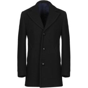 《期間限定 セール開催中》MP MASSIMO PIOMBO メンズ コート ブラック 48 ウール 96% / ナイロン 4%