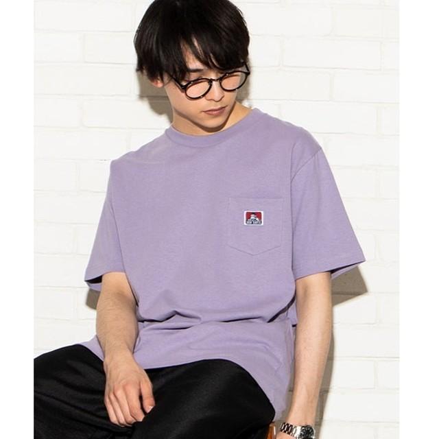 [マルイ] BEN DAVIS別注ポケットTシャツ/ウィゴー(メンズ)(WEGO)