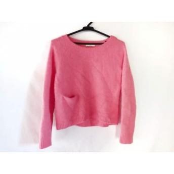 【中古】 オープニングセレモニー OPENING CEREMONY 長袖セーター サイズM レディース ピンク