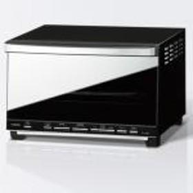 【新品/取寄品】ツインバード ミラーガラスオーブントースター TS-D057B ブラック