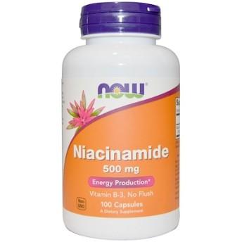 ナイアシンアミド、500 mg、100粒