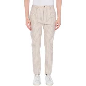 《期間限定セール開催中!》CRUNA メンズ パンツ ベージュ 44 コットン 74% / 麻 24% / ポリエステル 2%