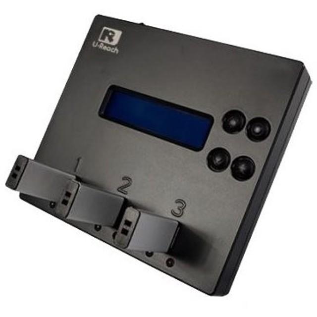 【在庫目安:お取り寄せ】U-Reach Japan UB300 1:2 USBデュプリケータ USBメモリのコピー、消去が可能な小型デュプリケータ。1個のUSB…