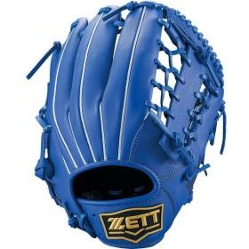 ZETT(ゼット) 野球 軟式グラブ オールラウンド用 デュアルキャッチ BRGB34940 ロイヤルブルー
