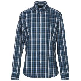 《セール開催中》SPRING STREET メンズ シャツ ディープジェード 40 コットン 75% / ナイロン 20% / ポリウレタン 5%