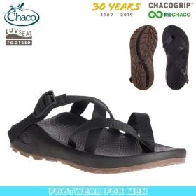 チャコ Chaco メンズ テグ 30thアニバーサリー ソリッドブラック サンダル スポーツサンダル