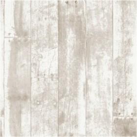 Wallprops 貼ってはがせる壁紙シール リクレイムドウッド ブラウン 長さ2.5m 幅52cm Reclaimed Wood