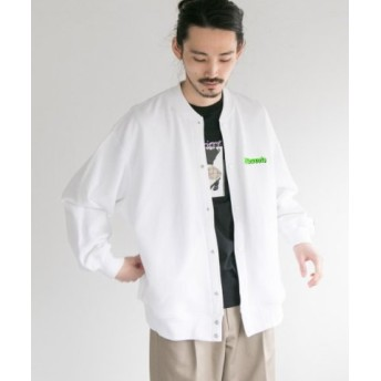 (URBAN RESEARCH/アーバンリサーチ)VOTE MAKE NEW CLOTHES×UR 別注SNAP CARDIGAN/メンズ WHITE 送料無料