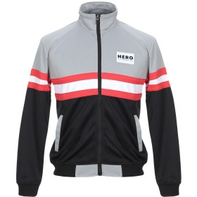 《セール開催中》HERO'S HEROINE メンズ スウェットシャツ グレー XS ポリエステル 100%