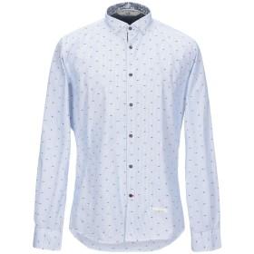 《セール開催中》ALESSANDRO LAMURA メンズ シャツ ブルー XL コットン 100%