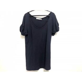 【中古】 シーバイクロエ SEE BY CHLOE 半袖Tシャツ レディース ネイビー