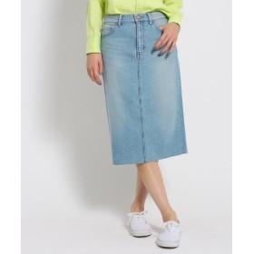 JET / ジェット 【洗える】10.5ozカットオフデニム タイトスカート