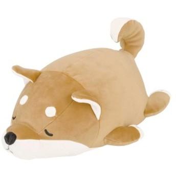 クッション 動物 ボルスター マシュマロアニマル 犬 コタロウ ( ぬいぐるみ 抱き枕 抱きまくら ヌイグルミ イヌ 柴犬 シバ 柴 茶柴 茶