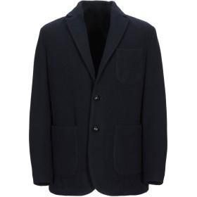 《セール開催中》MP MASSIMO PIOMBO メンズ テーラードジャケット ダークブルー 48 ウール 100%