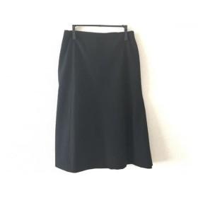 【中古】 ジルサンダー JILSANDER スカート サイズ34 XS レディース 黒