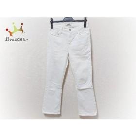 ジェイブランド J Brand パンツ サイズ29 XL レディース 美品 白   スペシャル特価 20190829【人気】