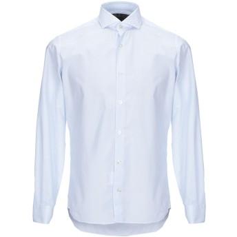 《セール開催中》DOMENICO TAGLIENTE メンズ シャツ ホワイト 39 コットン 98% / ポリウレタン 2%