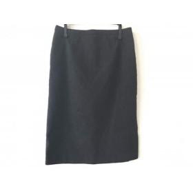 【中古】 アルマーニコレッツォーニ ARMANICOLLEZIONI スカート サイズ38 S レディース ダークグレー