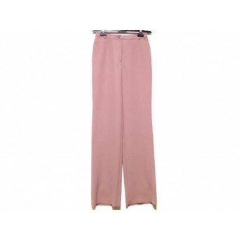 【中古】 レオナール LEONARD パンツ サイズ61 レディース 美品 ピンクブラウン SPORT