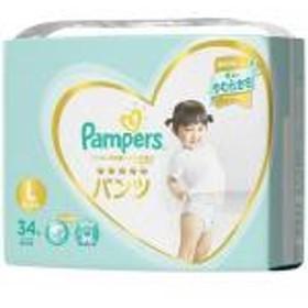 【通販限定/新品/取寄品/代引不可】パンパース おむつ はじめての肌へのいちばん パンツ  スーパージャンボ L 34枚入