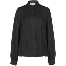 《9/20まで! 限定セール開催中》MAURO GRIFONI レディース シャツ ブラック 44 ポリエステル 100%