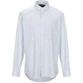 《期間限定セール開催中!》DOMENICO TAGLIENTE メンズ シャツ ホワイト 43 コットン 98% / ポリウレタン 2%