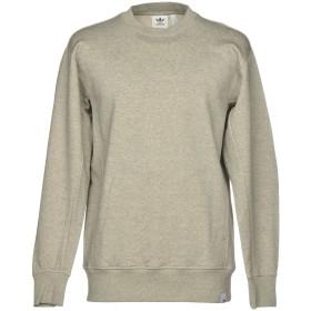 《期間限定 セール開催中》ADIDAS ORIGINALS メンズ スウェットシャツ グレー S コットン 100%