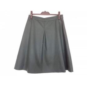 【中古】 マッキントッシュフィロソフィー スカート サイズ40 L レディース ダークグリーン