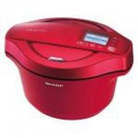 【新品/取寄品】シャープ 水なし自動調理鍋 ヘルシオ ホットクック KN-HW24C-R [レッド系]