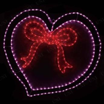 【送料無料】LEDガーデンモチーフライト ハート リボン LGML-HTR パーティーグッズ 飾り クリスマス オブジェ クリスマスパーティー 雑貨
