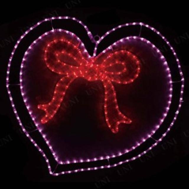 【送料無料】LEDガーデンモチーフライト ハート リボン LGML-HTR パーティーグッズ 飾り オブジェ 置物 クリスマス ガーデン クリスマス