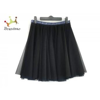 ミュラーオブヨシオクボ muller of yoshiokubo スカート サイズ38 M レディース 黒×パープル スペシャル特価 20190812