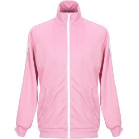 《セール開催中》MSGM メンズ スウェットシャツ ピンク 46 ポリエステル 100%