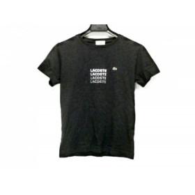 【中古】 ラコステ Lacoste 半袖Tシャツ サイズ38 M レディース 黒 マルチ