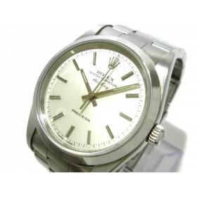 【中古】 ロレックス ROLEX 腕時計 エアキング 14000 メンズ SS/12コマ(1コマ落ち) シルバー